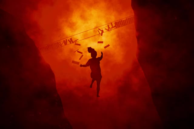 Watch and share Falling Hell GIFs and Cinema 4d GIFs by tyr12525 on Gfycat