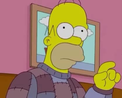 disappointed, enough, give, homer, mah, meh, mmm, neh, no, not, pff, sad, simpson, simpsons, the, tired, tiring, up, whatever, Homer Simpson - Meh GIFs