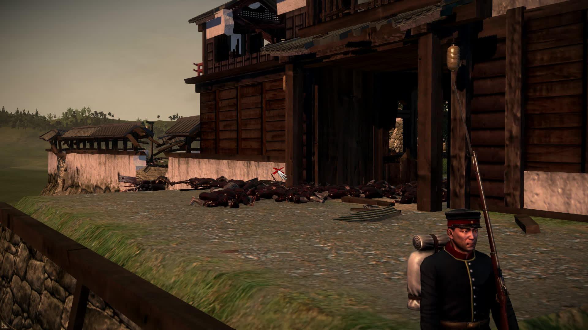 totalwar, Gate Massacre GIFs