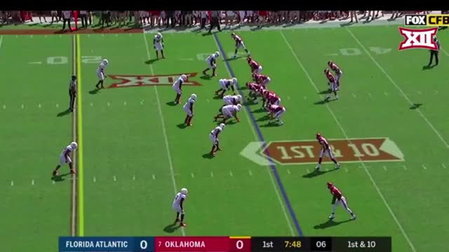 Watch Rodney Anderson vs Florida Atlantic (2018) GIF by @sportsfanaticmb on Gfycat. Discover more Sports, football GIFs on Gfycat