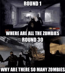The popular Codzombies GIFs