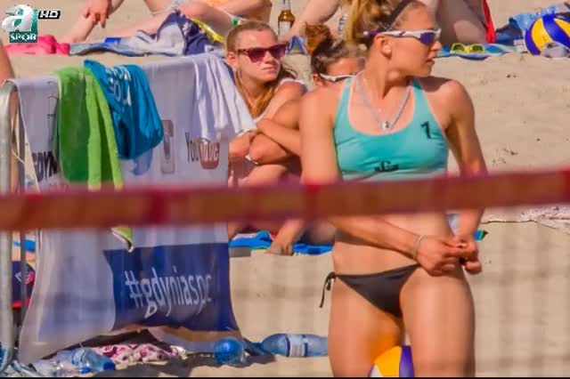 Watch and share Gdynia Beach Volleyball Girls GIFs on Gfycat