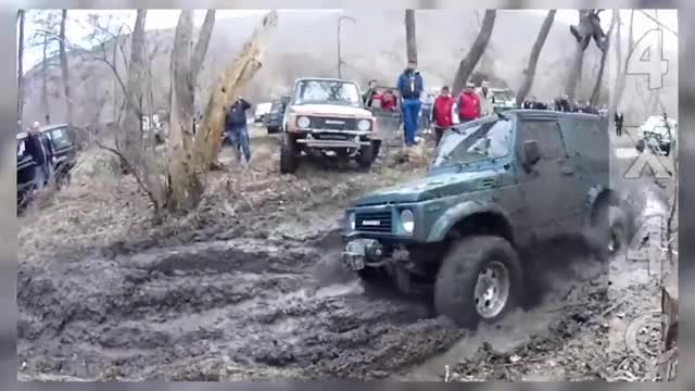 Watch Extreme Mudding, Suzuki Samurai in action! GIF by @top2006design on Gfycat. Discover more 4x4, extreme, suzuki GIFs on Gfycat