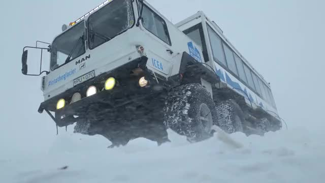 Watch and share Glacier Truck GIFs by miszapop on Gfycat