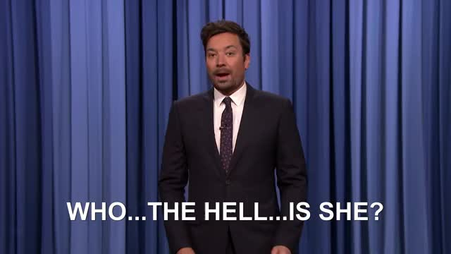 Watch and share Who The Hell Is She GIFs and The Tonight Show GIFs by John on Gfycat