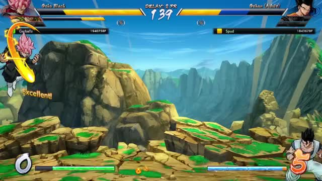 Watch Comeback GIF on Gfycat. Discover more Dragon Ball FighterZ, dbfz GIFs on Gfycat