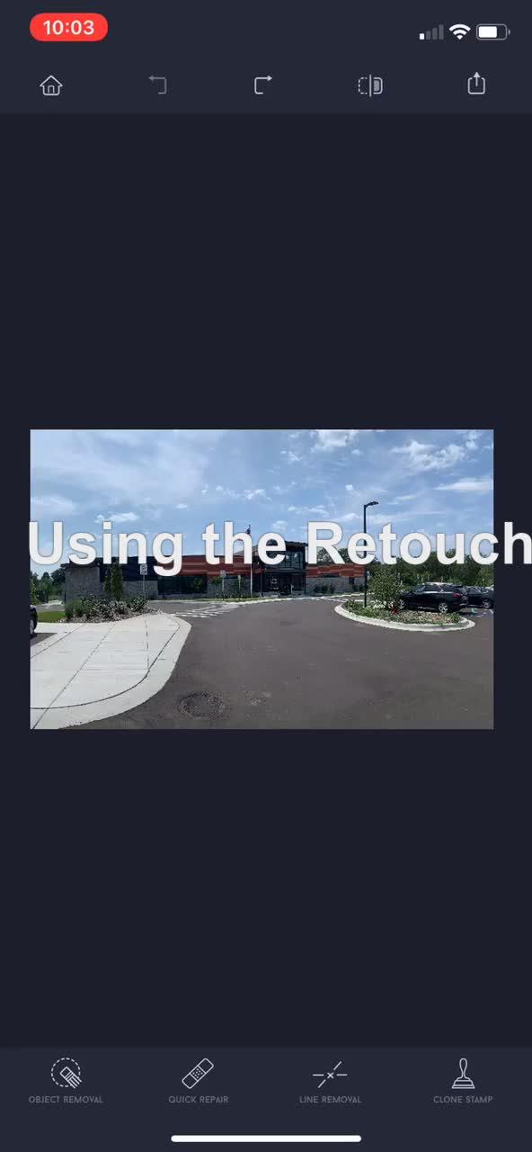 Watch and share Retouch-app-demo GIFs on Gfycat