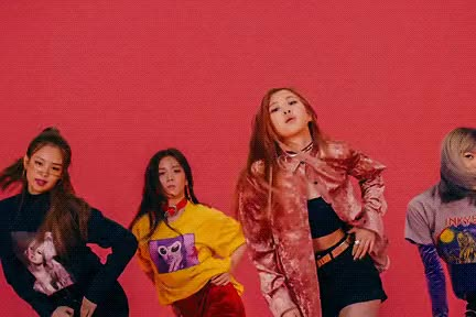 Watch All-Female K-Pop Group BLACKPINK Makes Its Debut with Album 'SQUARE ONE' GIF on Gfycat. Discover more related GIFs on Gfycat
