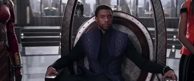 Watch and share Chadwick Boseman GIFs and Comic Books GIFs by Notias1 on Gfycat