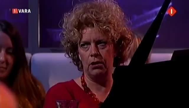 Watch and share Brigitte Kaandorp - Zwaar Leven - Pauw & Witteman 09-10-12 HD GIFs on Gfycat