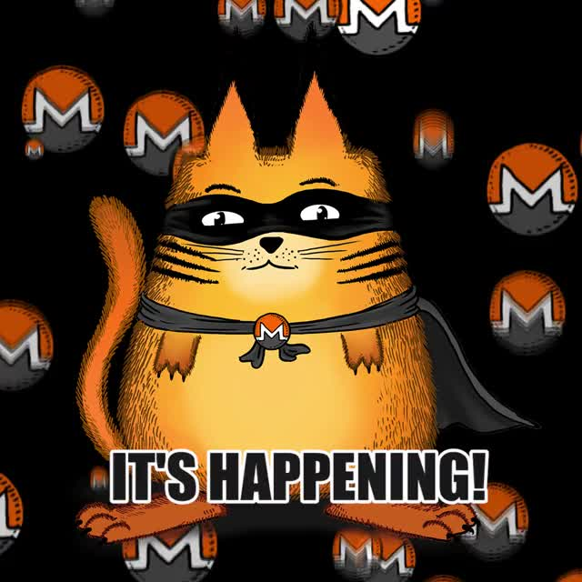 Watch and share Monero - It's Happening! GIFs on Gfycat
