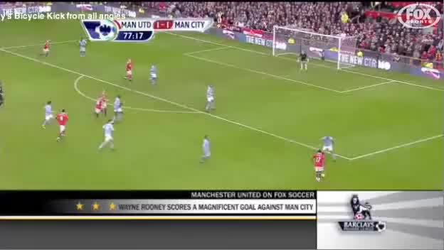 Watch and share Wayne Rooney Bicycle Kick Goal Vs Manchester City (Multiview) GIFs on Gfycat