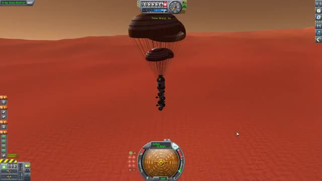 Watch and share KSP Duna Rover Drop GIFs by dengamleskurk on Gfycat