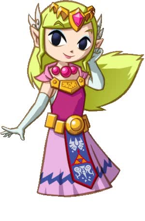 Watch and share Princess Zelda Gif By Valenttina2712 animated stickers on Gfycat