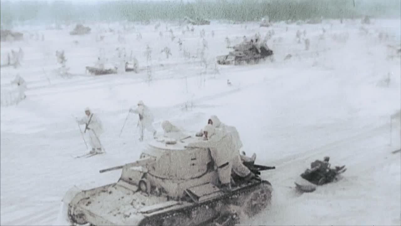 CombatFootage, combatfootage, militarygfys, Soviet Skitroopers GIFs