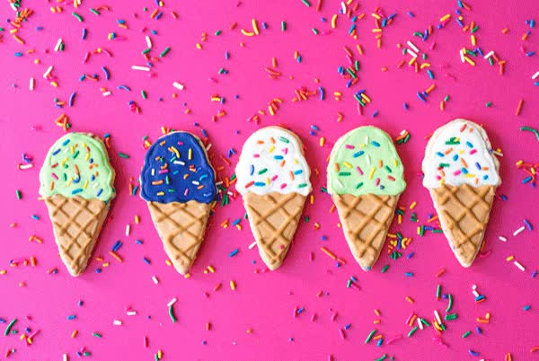 Watch and share Decorated Icing Cupcake Ice Cream Cookie GIFs on Gfycat