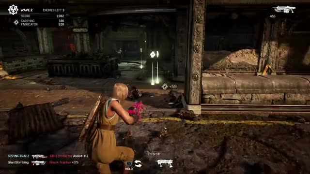 Gears of War 4 - Item Pickup (mesh and animations) GIF by