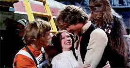 Watch and share Carrie Fisher GIFs and Harrison Ford GIFs on Gfycat