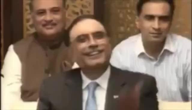 Watch and share Zardari Laughing GIFs on Gfycat