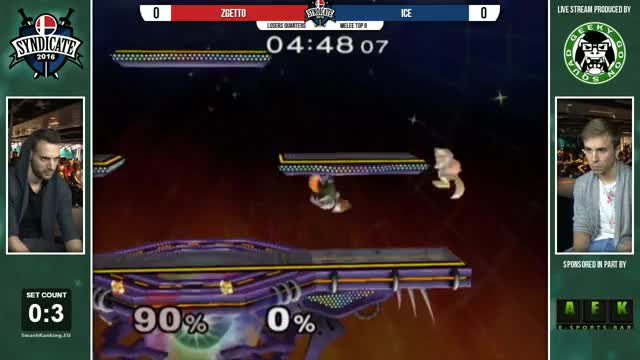 Syndicate - Zgetto Vs. Ice - Losers Quarters - Melee