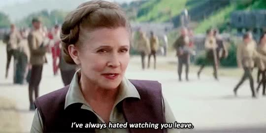 Watch this carrie fisher GIF by Reaction GIFs (@sypher0115) on Gfycat. Discover more carrie fisher, star wars GIFs on Gfycat