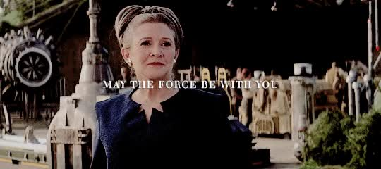 Watch this trending GIF on Gfycat. Discover more carrie fisher, daisy ridley GIFs on Gfycat