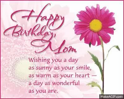 Watch and share Happy Birthday Mom GIFs on Gfycat