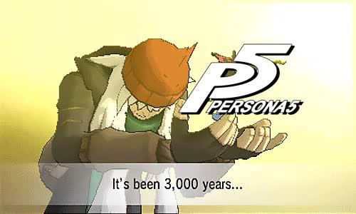 3000years, Megaten, p5, Persona 5 Release GIFs