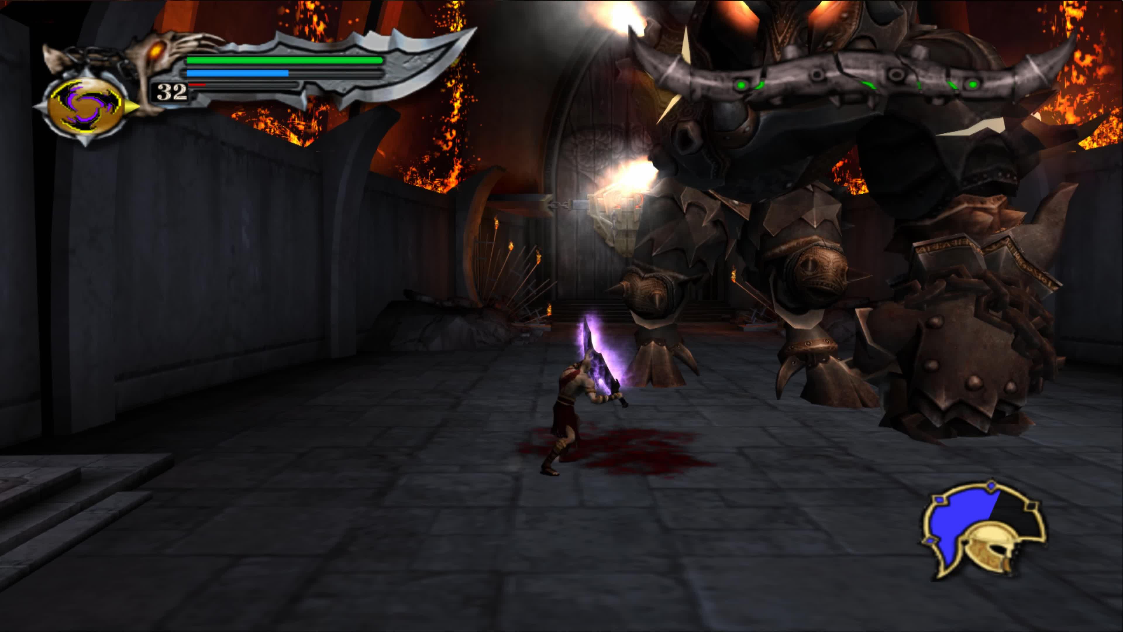 God Of War 1 HD - Gameplay Walkthrough Part 8 - Minotaur Boss ...