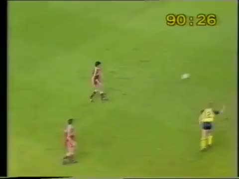 Watch and share McMahon Puts Grobbelaar Through On Goal GIFs on Gfycat
