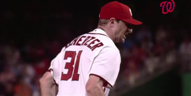 Watch and share Max Scherzer GIFs and Baseball GIFs by efitz11 on Gfycat