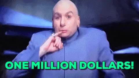 Watch and share ONE MILLION DOLLARS!! GIFs on Gfycat