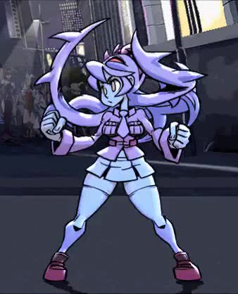 Watch and share Skullgirls Encore GIFs and Adventure Time GIFs on Gfycat