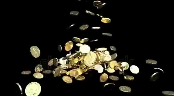 Watch and share Stock-footage-gold-coins-fall-against-black-background-treasure-business-success GIFs on Gfycat
