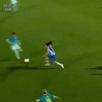 Watch and share  엄청난 축구 실력의 처자 ㄷ Gif GIFs by podong on Gfycat