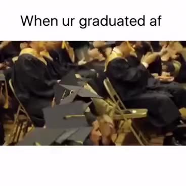 Watch and share Happy Graduation GIFs on Gfycat