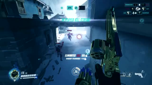Watch and share Overwatch Gameplay GIFs and Mccree Enthusiast GIFs by deadran on Gfycat