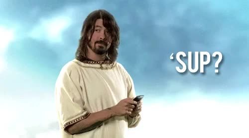Watch and share Dave Grohl Sup GIFs on Gfycat