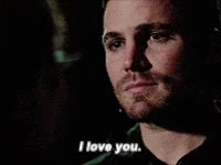 Watch and share Olicity, I Love You, Love, Oliver Queen GIFs on Gfycat
