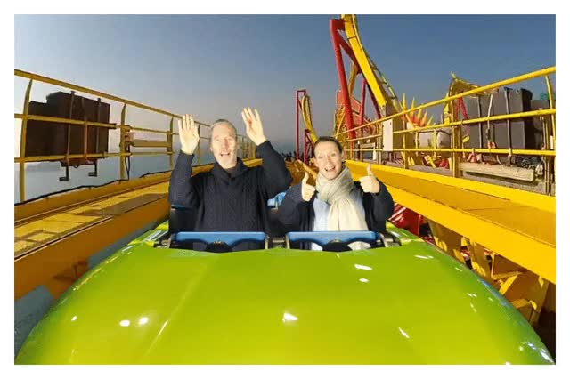 Watch and share Theme-park-rollercoaster-gif GIFs on Gfycat