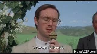 Watch and share Napoleon Dynamite - Kip's Wedding Song To Lafawnduh [HD] GIFs on Gfycat