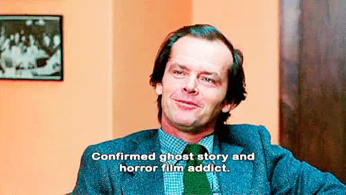 Watch and share Stanley Kubrick GIFs and Jack Nicholson GIFs on Gfycat