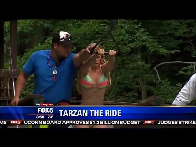 Watch bikini-clad reporter GIF by @natureboy on Gfycat. Discover more Anna Gilligan, bikini, reporter GIFs on Gfycat