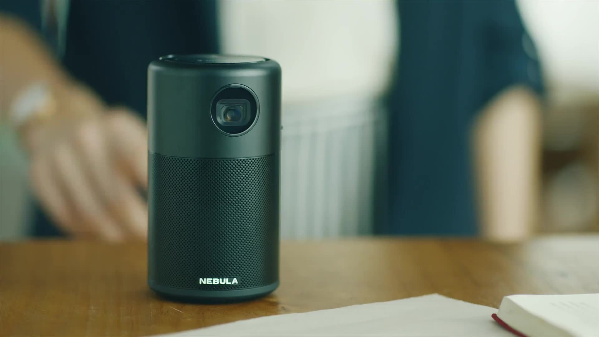 nebula, pico projector, projector, Nebula Capsule Commercial TVC GIFs