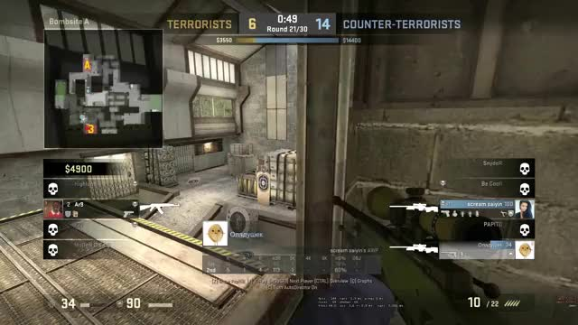 Watch and share Mid Air Awp GIFs by inf1ke on Gfycat