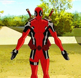 2x16, deadpool, if the anon who requested this would prefer it with text feel free to let me know, request, ultimate spiderman, Ultimate Spider-Man - Ultimate Deadpool GIFs