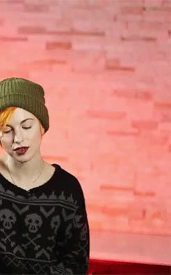 Watch and share Hayley Williams GIFs and Paramore GIFs on Gfycat