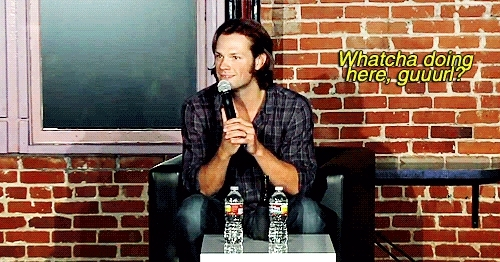 jared padalecki, outside GIFs