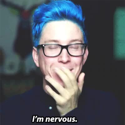 Watch nervous reactions GIF on Gfycat. Discover more Tyler Oakley GIFs on Gfycat