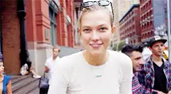 "Watch ""He makes me laugh"" GIF on Gfycat. Discover more already august 3 in my timezone bye, karlie kloss, karlieklossdaily, kklossedit, my precious caramel coated muffin, my stuff GIFs on Gfycat"